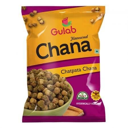 Gulab Flavored Chatpata Chana – 35 Gm Pouch [Chana Masala Dry]-0