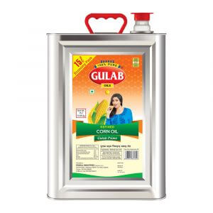 Gulab Prime Refined Corn Oil 15 Ltr Tin-0