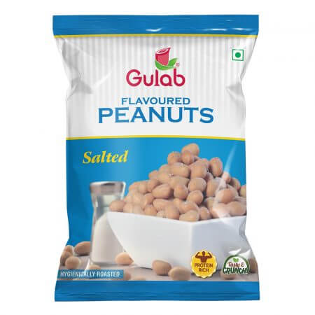 Gulab Salted Peanuts-40Gm Pouch-0