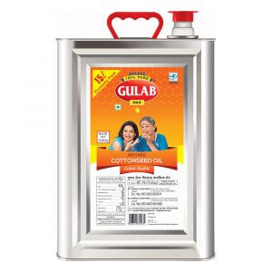 Gulab Health Refined Cottonseed Oil 15 Ltr Tin-0