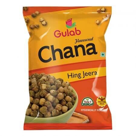 Gulab Flavoured Hing Jeera Chana - 35 Gm Pouch-0