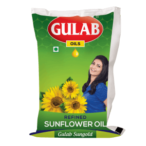 Gulab Sungold Refined Sunflower Oil 1 Ltr Pouch